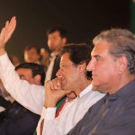 Dr Shahzad Waseem with Imran Khan at Tehreek e Ehtisab Jalsa