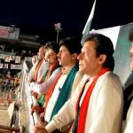 Dr Shahzad Waseem with Imran Khan at Azadi Dharna D-Chowk Islamabad