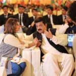 Dr Shahzad Waseem with Ms Semabia Tahir at Workers Conventions