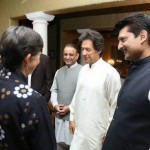 Good interaction and exchange of views of Ambassadors with Chairman PTI Imran Khan at my residence.
