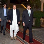 Ambassadors with Chairman PTI Imran Khan at reception in his honour at my residence