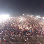Historic and Massive build up as chairman #PTI Imran khan will join us shortly at Parade ground