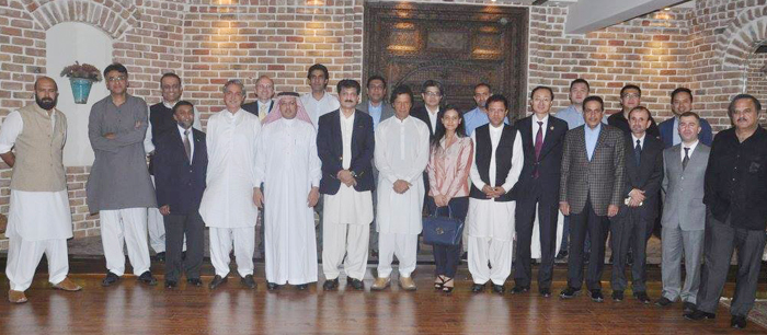 Hosted Iftar dinner for Chairman PTI Imran Khan, Attended by Ambassadors and dignitaries - Featured Image