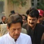 Chairman PTI Imran Khan coming for media talk