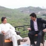 Met with Chairman PTI Imran Khan at Bani Gala.