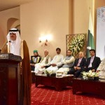 PTI Central Secretary for Foreign Affairs Dr Shahzad Waseem at reception hosted by Ambassador H.E Nawaf Al Malkiy to celebrate 87th National Day of Saudi Arabia.