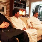 PTI Leader from Karak & Ex MNA Shams Khattak called on PTI Central Secretary for Foriegn Affairs Dr Shahzad Waseem at his Residence
