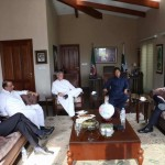 Received Ambassador of Spain H.E Carlos Morales at bani gala for meeting with Chairman PTI Imran Khan.