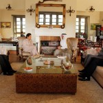 Saudi Amb Mr Abdullah Al Zahrani meeting Chairman PTI Imran Khan with Dr Shahzad Waseem