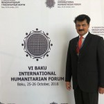 Senator Dr Shahzad Waseem participated at International Conference in Baku