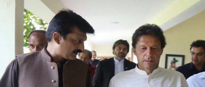 Today at banigala with my leader Imran khan. PTI