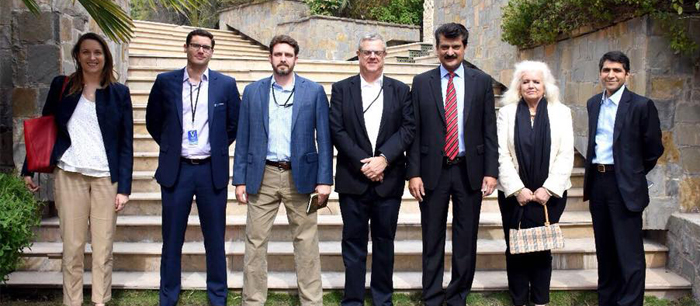 US Congress Staff Members met Dr Shahzad Waseem Central Secretary for foreign affairs PTI at his residence - 05 - P