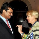 Well attended reception hosted by ambassador of of Morocco H.E Mohamed Karmoune in Islamabad.