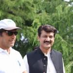 With my leader Imran Khan at Nathia Gali PTI