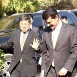 Zheng Xiaosong China Vice Minister, IDCPC called upon Chairman PTI Imran Khan at Bani gala